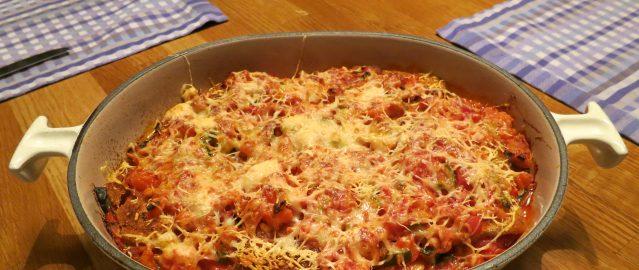 Lasagna met oud brood